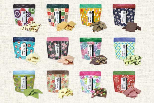 Nhật Bản tung hàng loạt sản phẩm socola mới lạ đón đầu thị trường Valentine năm nay - Ảnh 1.
