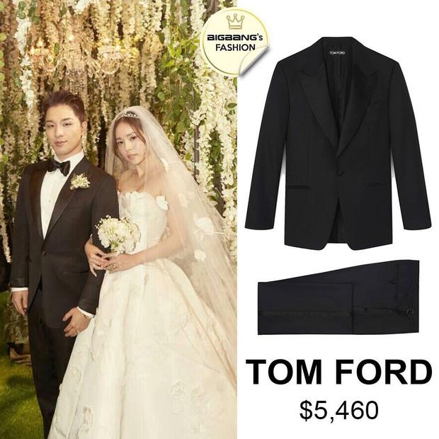 Có phúc cùng hưởng, có đồ hiệu cùng mặc: các thành viên Big Bang cùng diện suit Tom Ford trong lễ cưới của Taeyang để thể hiện tình huynh đệ - Ảnh 2.