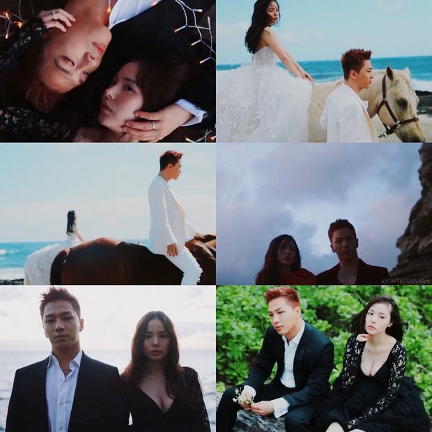 Hậu trường chụp ảnh cưới Taeyang: Min Hyo Rin khoe ngực siêu khủng, vợ chồng đẹp như quay MV - Ảnh 10.