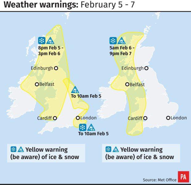 Nước Anh đối mặt với nguy cơ lạnh nhất trong 6 năm: Met Office đưa ra mức cảnh báo vàng - Ảnh 2.