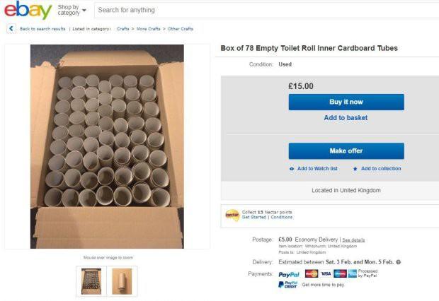 Lõi giấy vệ sinh đang là hàng hot trên eBay nhưng có ai biết người ta mua về làm gì không? - Ảnh 6.
