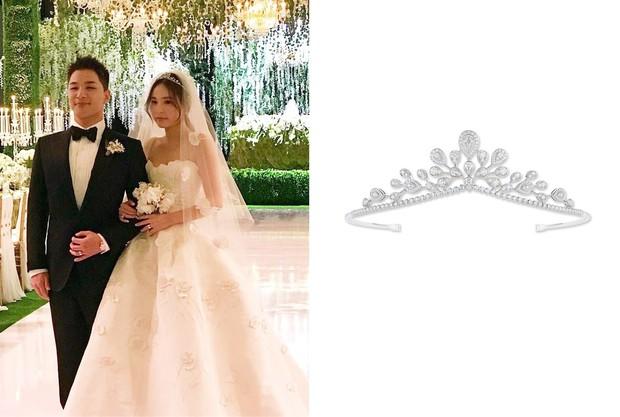 Cùng với Min Hyo Rin, nhiều người đẹp cũng lựa chọn trang sức của thương hiệu này cho ngày trọng đại - Ảnh 2.
