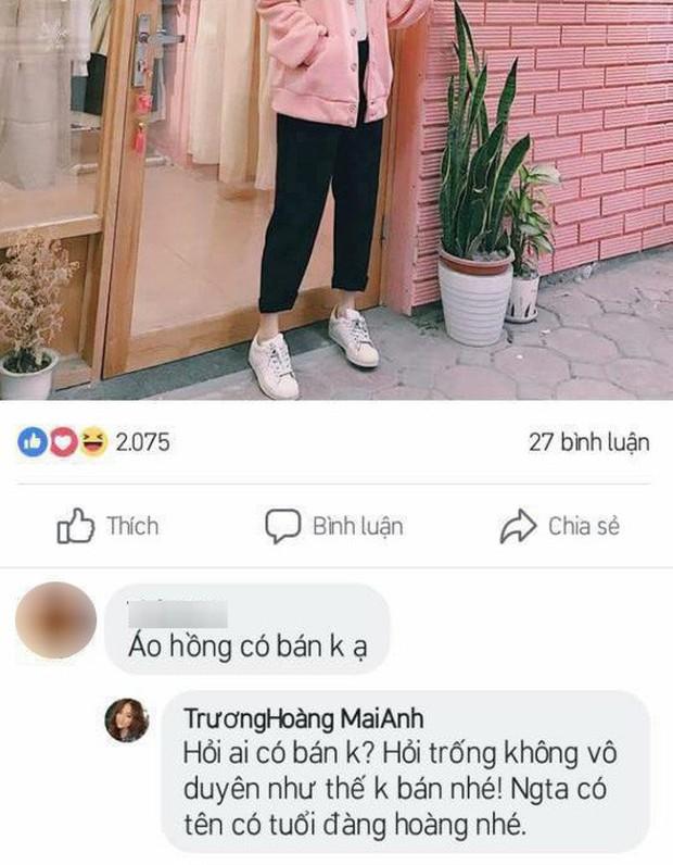 Trương Hoàng Mai Anh tiếp tục lộ ảnh mắng khách vô duyên khi hỏi giá tiền quần áo - Ảnh 2.