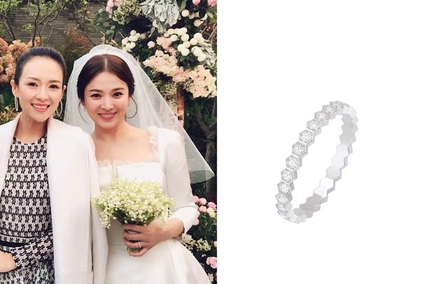 Cùng với Min Hyo Rin, nhiều người đẹp cũng lựa chọn trang sức của thương hiệu này cho ngày trọng đại - Ảnh 4.