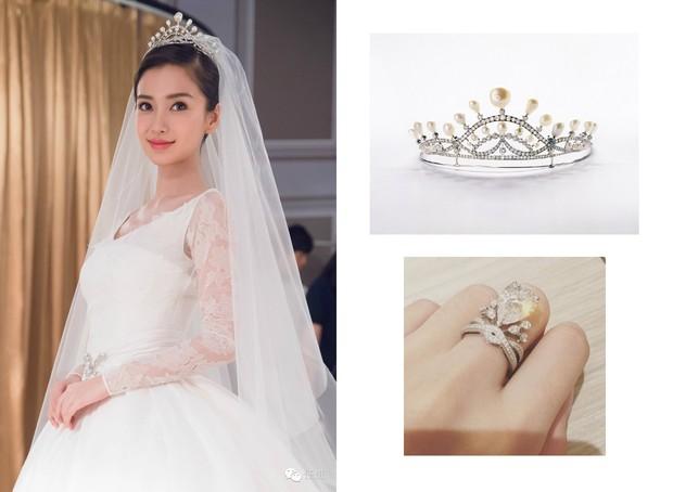Cùng với Min Hyo Rin, nhiều người đẹp cũng lựa chọn trang sức của thương hiệu này cho ngày trọng đại - Ảnh 6.