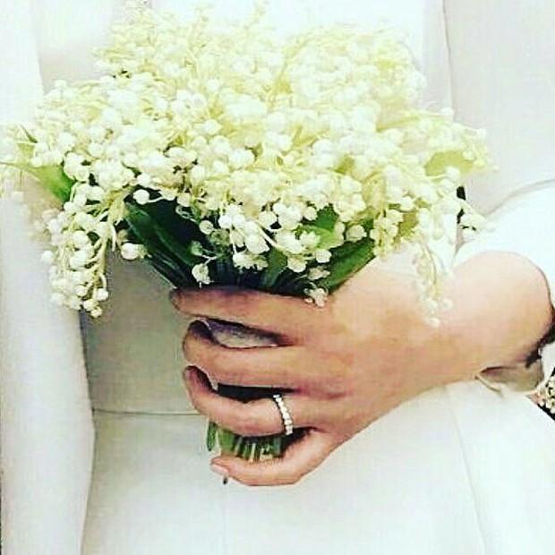 Cùng với Min Hyo Rin, nhiều người đẹp cũng lựa chọn trang sức của thương hiệu này cho ngày trọng đại - Ảnh 5.