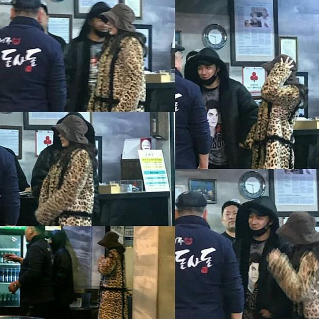 Taeyang tủm tỉm xấu hổ, Min Hyo Rin mặc nguyên chiếc áo khoác từ hôm sau cưới đi hưởng tuần trăng mật ở Jeju - Ảnh 3.