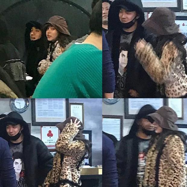 Taeyang tủm tỉm xấu hổ, Min Hyo Rin mặc nguyên chiếc áo khoác từ hôm sau cưới đi hưởng tuần trăng mật ở Jeju - Ảnh 4.