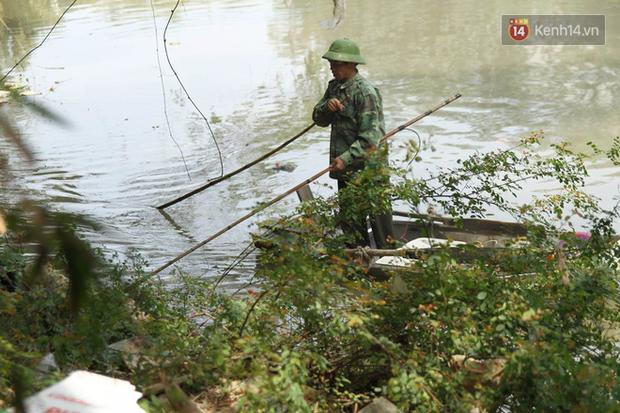 Clip, ảnh: Cá chép tiễn Táo quân vừa bơi tới cầu Diễn đã bị chích điện lôi lên bờ - Ảnh 5.