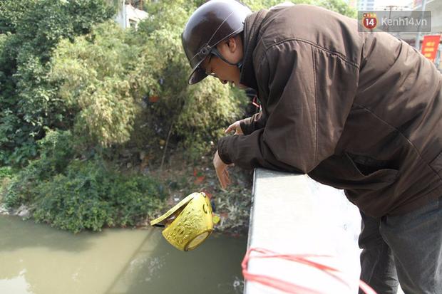 Clip, ảnh: Cá chép tiễn Táo quân vừa bơi tới cầu Diễn đã bị chích điện lôi lên bờ - Ảnh 14.