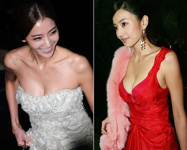 Vòng 1 nhỏ nhắn bỗng căng đầy gợi cảm, có phải các mỹ nhân đẹp nhất châu Á này đã bơm ngực? - Ảnh 8.