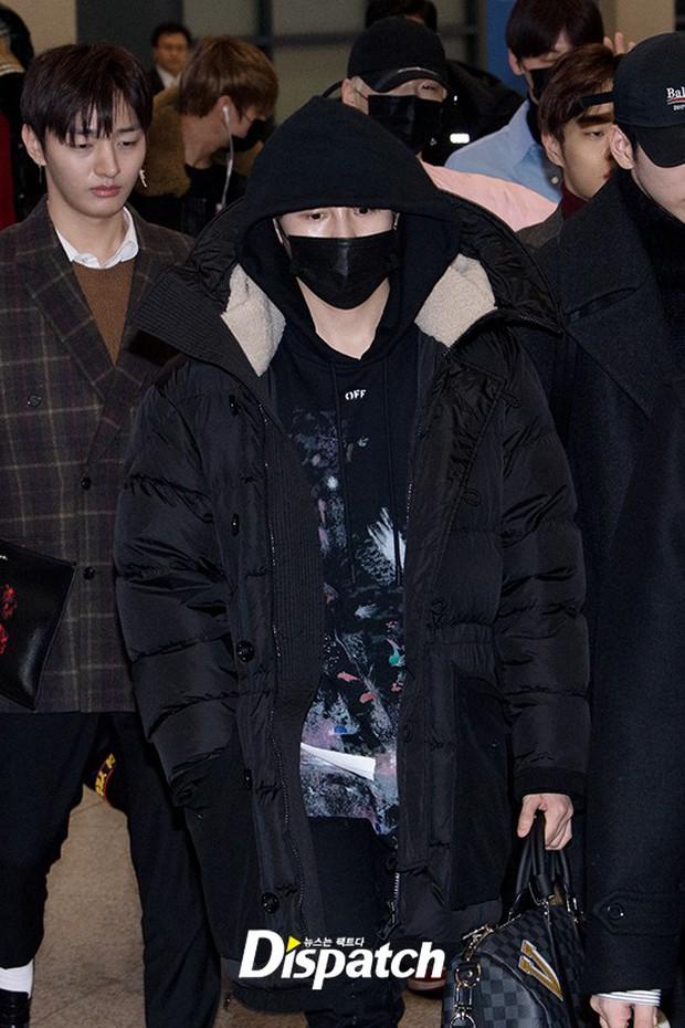 Dàn trai đẹp Wanna One khiến sân bay náo loạn vì chật kín fan, mỹ nam nhóm NUEST lại đẹp hơn cả con gái - Ảnh 5.