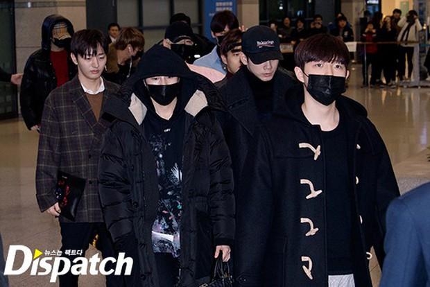 Dàn trai đẹp Wanna One khiến sân bay náo loạn vì chật kín fan, mỹ nam nhóm NUEST lại đẹp hơn cả con gái - Ảnh 2.