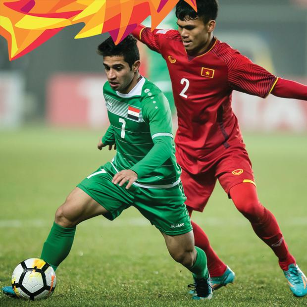 ĐỊA CHẤN: Việt Nam quật ngã Iraq sau loạt penalty, vào bán kết U23 châu Á - Ảnh 5.