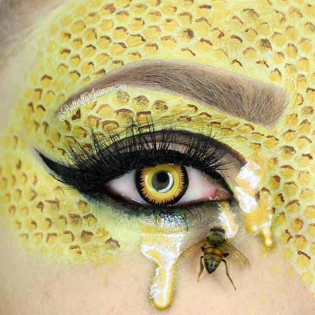 Nhặt nhạnh xác côn trùng, cô gái đã làm nên những tác phẩm make up đỉnh cao - Ảnh 13.
