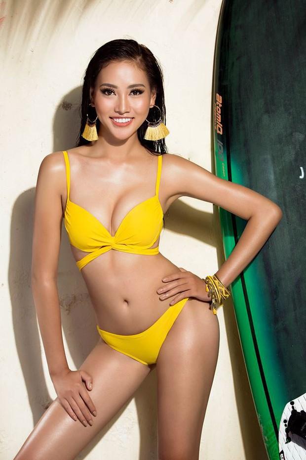 Khởi đầu mờ nhạt nhưng cô nàng 1m80 này lại liên tiếp lọt Top cao tại Hoa hậu Hoàn vũ VN 2017 - Ảnh 13.