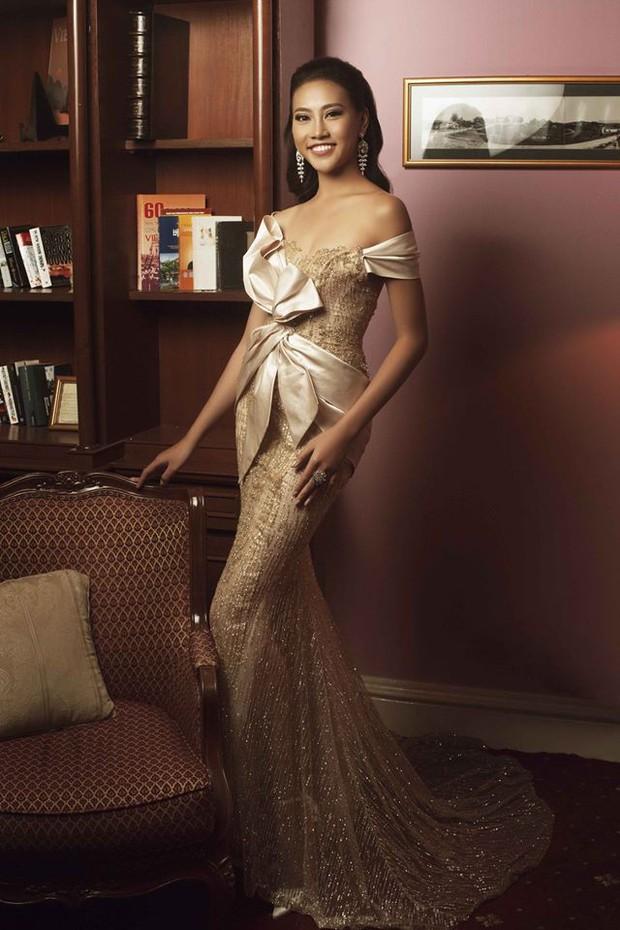 Khởi đầu mờ nhạt nhưng cô nàng 1m80 này lại liên tiếp lọt Top cao tại Hoa hậu Hoàn vũ VN 2017 - Ảnh 12.