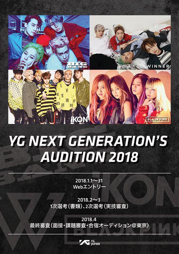 Sau SM Entertainment, fan Việt lại nháo nhào vì YG tuyển thực tập sinh trên toàn thế giới - Ảnh 3.