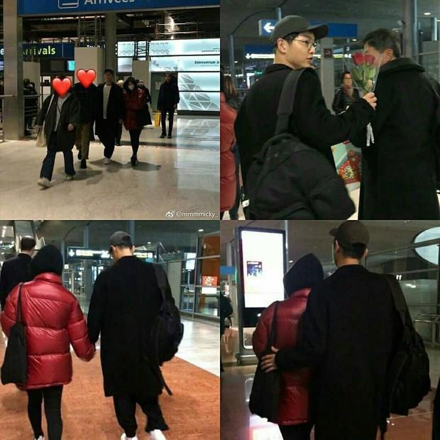 Song Joong Ki và Song Hye Kyo dắt tay nhau tình tứ, lần đầu tiên cùng nhau sang Paris dự một sự kiện - Ảnh 6.