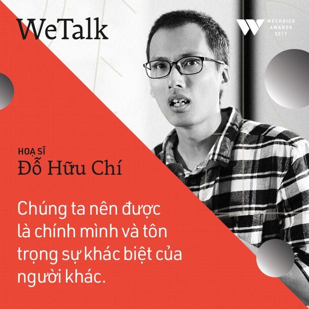 Bình tĩnh sống - Buổi trò chuyện tràn đầy cảm hứng của WeTalk 2017! - Ảnh 9.