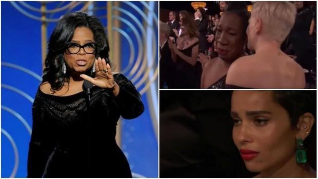 Hàng loạt khán giả phải rơi nước mắt trước bài diễn văn của Oprah Winfrey tại Quả Cầu Vàng 2018 - Ảnh 3.