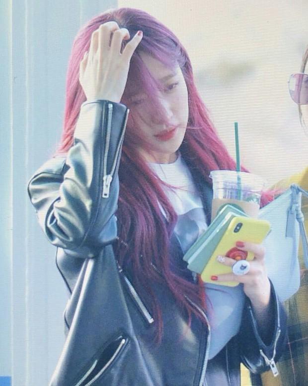 Đến Sài Gòn cùng ngày với Seungri, mỹ nhân Hani đẹp mê mẩn với mái tóc đỏ gây sốt bên các thành viên EXID - Ảnh 3.