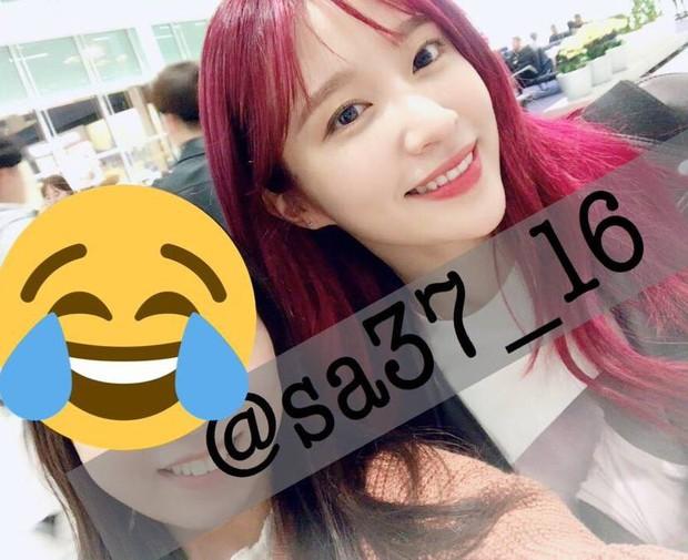 Đến Sài Gòn cùng ngày với Seungri, mỹ nhân Hani đẹp mê mẩn với mái tóc đỏ gây sốt bên các thành viên EXID - Ảnh 1.