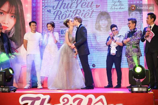 Lan Khuê, Team Sang diện lộng lẫy đến ủng hộ Trương Mỹ Nhân ra mắt phim điện ảnh thứ hai đóng vai chính - Ảnh 11.