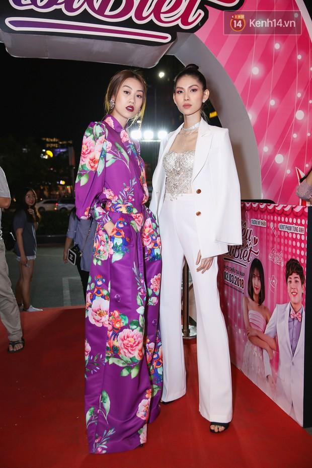 Lan Khuê, Team Sang diện lộng lẫy đến ủng hộ Trương Mỹ Nhân ra mắt phim điện ảnh thứ hai đóng vai chính - Ảnh 6.