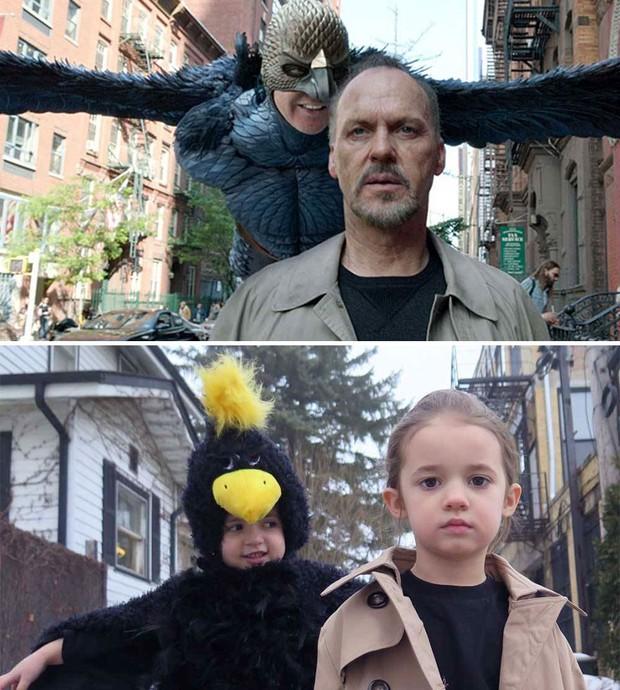 16 màn cosplay thần sầu các cảnh kinh điển trong giải Oscar của bé gái diễn sâu - Ảnh 21.