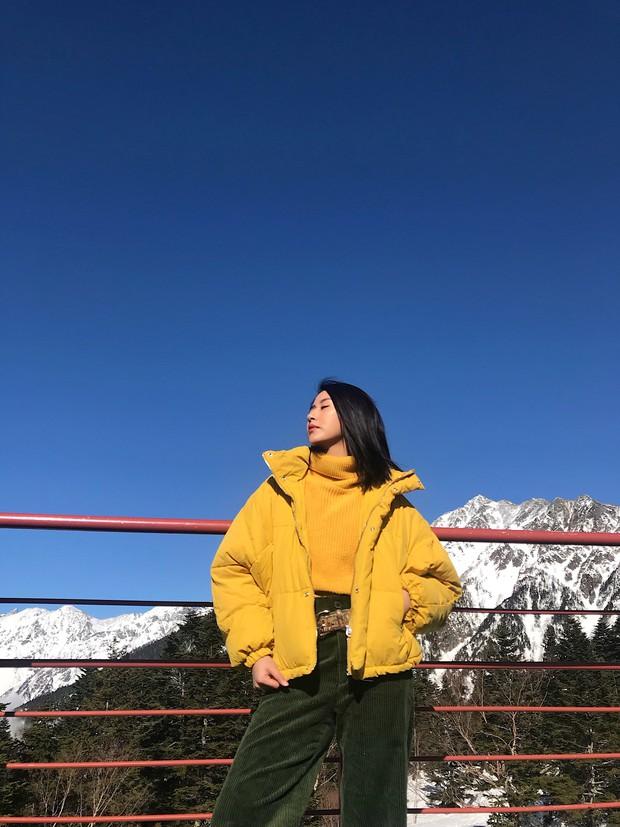 Nhìn ảnh Quỳnh Anh Shyn đi Nhật, ai cũng phải công nhận cô nàng đợt này makeup và ăn mặc xinh quá đỗi - Ảnh 6.
