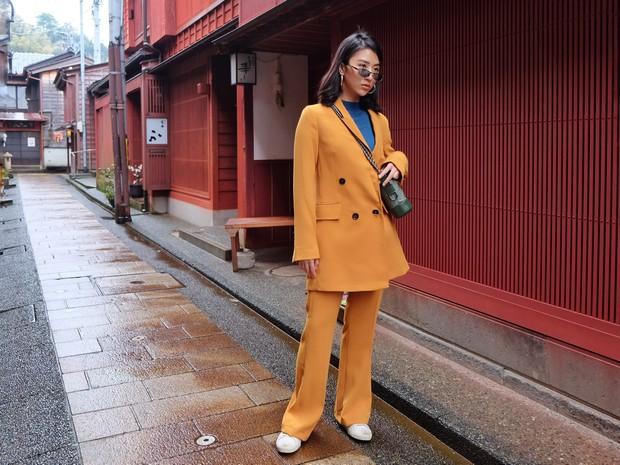 Nhìn ảnh Quỳnh Anh Shyn đi Nhật, ai cũng phải công nhận cô nàng đợt này makeup và ăn mặc xinh quá đỗi - Ảnh 3.