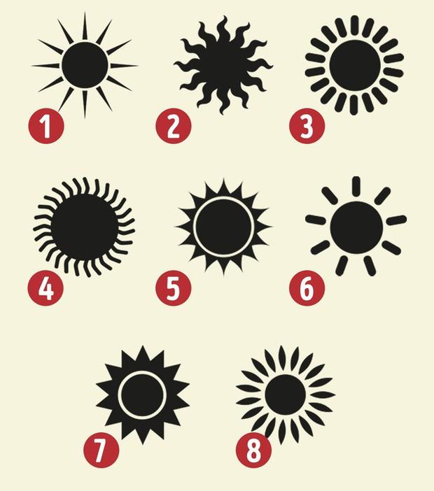 Bài test tính cách: Chọn 1 hình ảnh Mặt trời và bí mật về tính cách của bạn sẽ được tiết lộ - Ảnh 1.