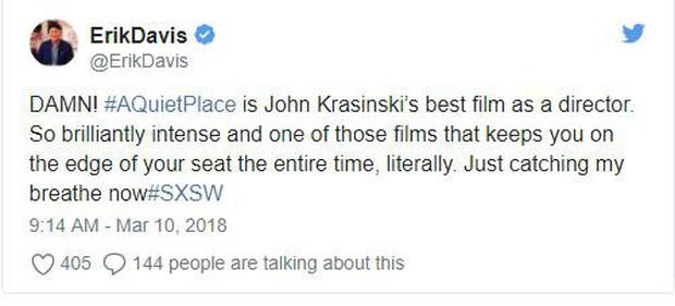 """Phim kinh dị mong chờ nhất năm """"A Quiet Place"""" được netizen ca ngợi hết lời - Ảnh 7."""
