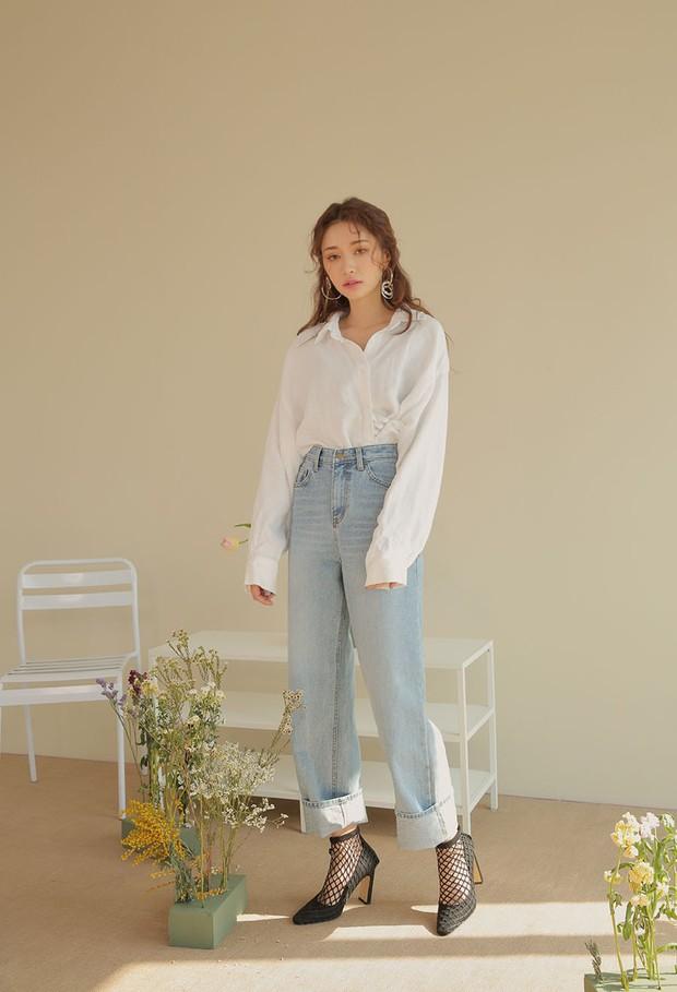Sắm gì thì sắm, tủ đồ của bạn nên có đủ 4 kiểu quần jeans này để không bao giờ phải lo không có gì để mặc - Ảnh 4.