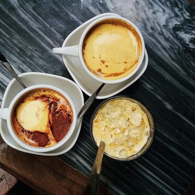 Vòng quanh thế giới đi tìm những món cafe độc đáo nhất: Cafe pha với than hồng, pho mát - Ảnh 4.