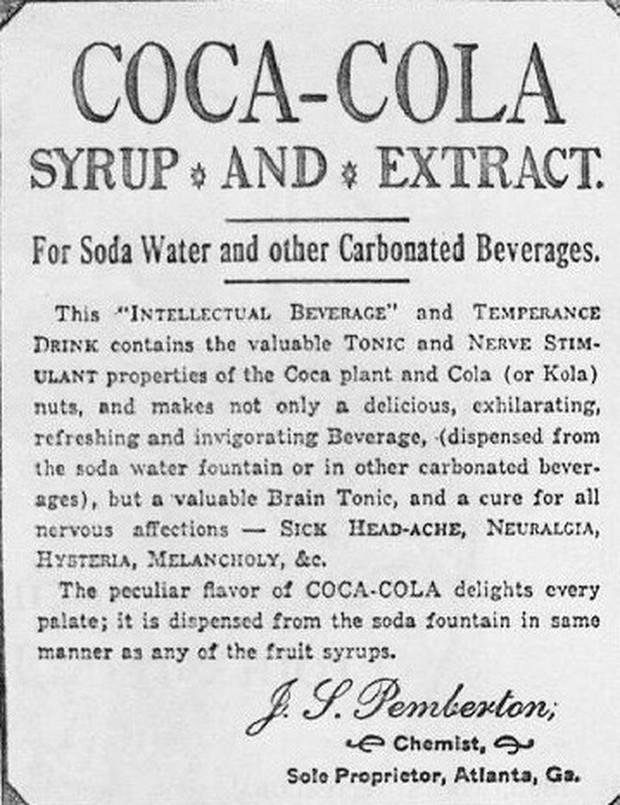 Cuộc đời bi thảm của John Pemberton, người phát minh ra Coca-Cola: Bị chứng nghiện moóc-phin, chết trong nghèo đói - Ảnh 5.