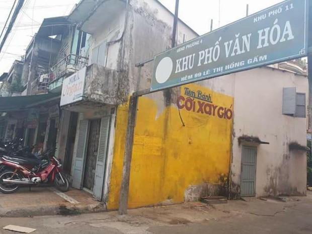 Bức tường vàng Cối xay gió nổi tiếng Đà Lạt bất ngờ có phiên bản mini ở Tiền Giang - Ảnh 1.