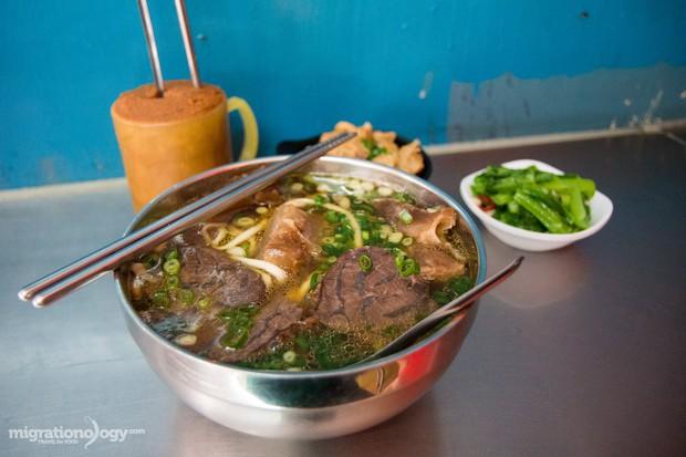Chỉ điểm quán mì bò ngon nhất nhì ở Đài Bắc mà bất cứ du khách nào cũng muốn ghé qua - Ảnh 4.
