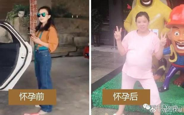 Loạt ảnh trước và sau khi mang thai chứng minh: Đâu chỉ cánh chị em, các ông chồng cũng xài hao lắm chứ - Ảnh 8.