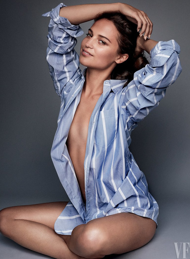 Mỹ nhân Tomb Raider: Biểu tượng sắc đẹp Thụy Điển dù ngực nhỏ vẫn quyến rũ hàng triệu khán giả - Ảnh 1.