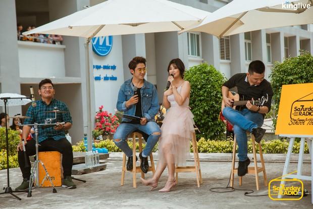 Saturday Radio: Hoàng Yến Chibi trổ tài đọc rap chửi MC Quốc Bảo, lần đầu hát live nhạc phim Tháng Năm Rực Rỡ - Ảnh 8.
