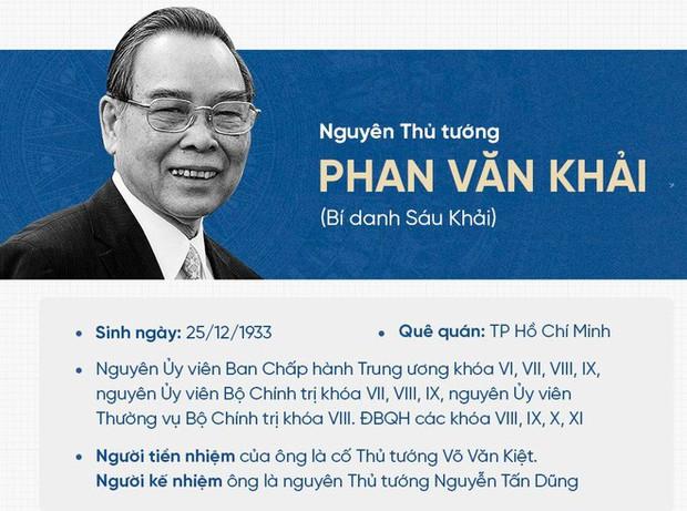 Nguyên Thủ tướng Phan Văn Khải từ trần - Ảnh 2.