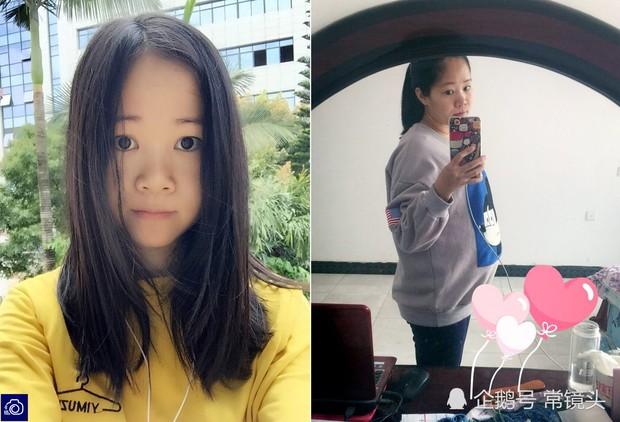 Loạt ảnh trước và sau khi mang thai chứng minh: Đâu chỉ cánh chị em, các ông chồng cũng xài hao lắm chứ - Ảnh 4.
