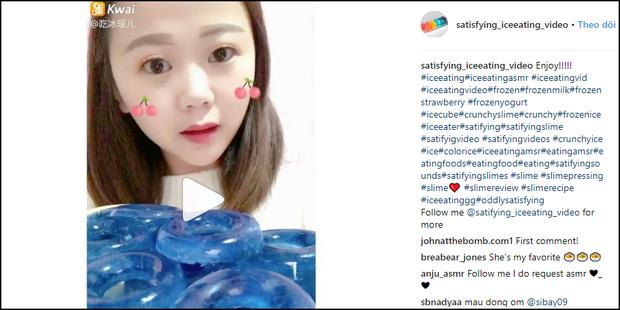 Cư dân mạng Trung Quốc thi nhau nhai đá lạnh thử sức bền của răng trên Instagram - Ảnh 1.
