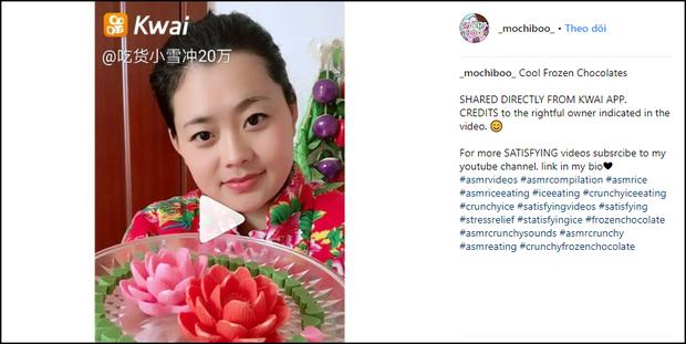Cư dân mạng Trung Quốc thi nhau nhai đá lạnh thử sức bền của răng trên Instagram - Ảnh 3.