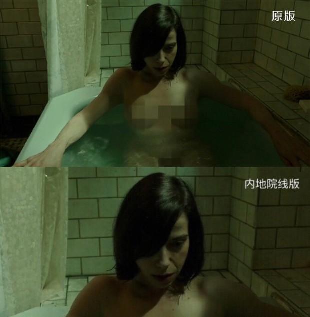 Thưởng thức cảnh nóng kiểu xứ Trung: Đắp thêm vải thành... bộ đồ bơi tinh tế cho Elisa của The Shape of Water - Ảnh 2.