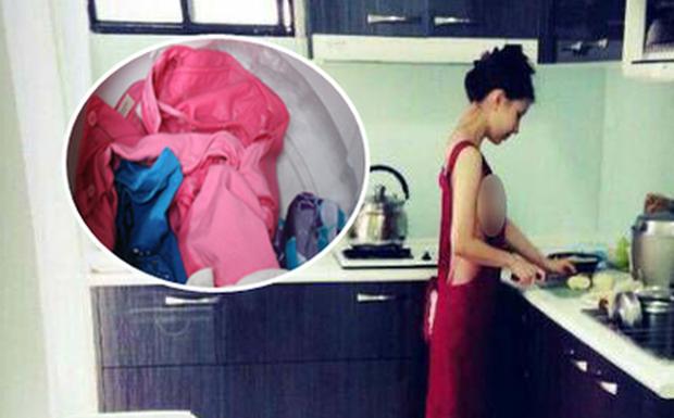 Sống chung với chị chồng phiên bản ở bẩn: Bỏ nội y còn vết tới tháng lẫn với áo quần khác, tã lót em bé giặt cùng khăn mặt - Ảnh 1.