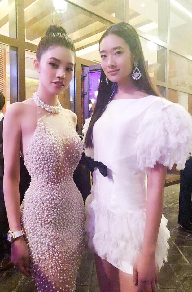 Jolie Nguyễn hào hứng chụp ảnh cùng Cổ Thiên Lạc, Hyomin (T-Ara) tại sự kiện ở Macao - Ảnh 8.