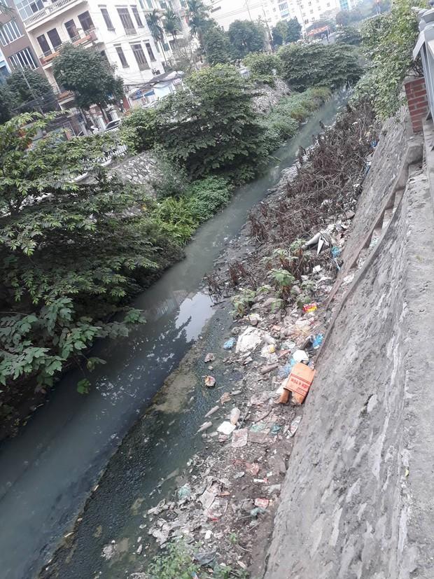 Giữa lòng Thủ đô xuất hiện hố rác lớn, nước đen đặc gây ô nhiễm nặng ảnh hưởng đến cuộc sống của hàng trăm hộ dân - Ảnh 1.
